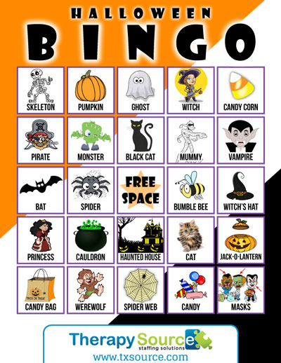 Halloween Bingo Free Download
