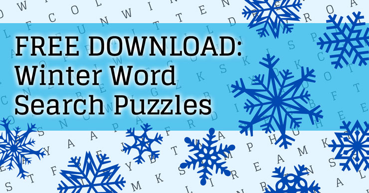 Keepin' It Old-School With Free, Printable Word Search