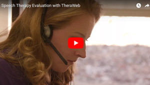 TheraWeb Evaluation for Speech Therapy